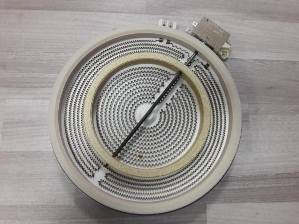 Seppelfricke EK6300-1, Zweikreiszone 230mm,Kochfeld,Ersatzteil,gebraucht,Ceranfeld,Erkelenz